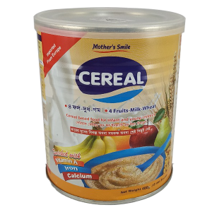 Mother's Smile Cereal 4 Fruits 400 gm