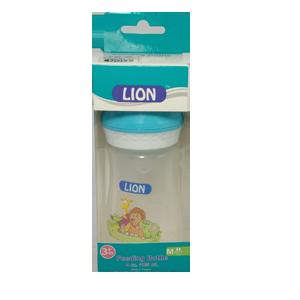 Lion Feeding Bottle 4 oz./125 ml BPA free